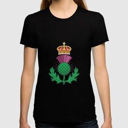 Thistle Symbol Of Scotland T-shirt