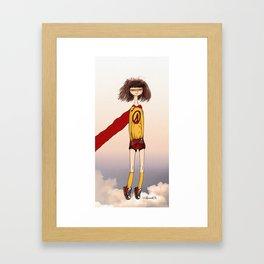 Captain Awkward Framed Art Print