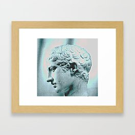 Glowing Youth Framed Art Print