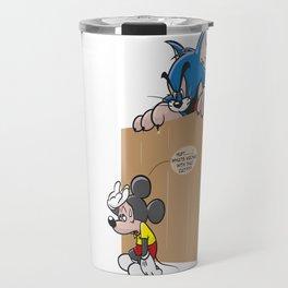 Wrong Mouse Travel Mug