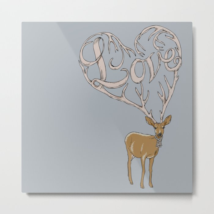 Stubborn Love Metal Print