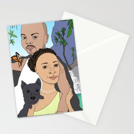 Khalil and Mia Stationery Cards
