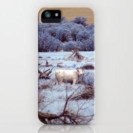 Lone Grazer iPhone Case