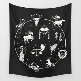 Strange Fortunes: Midnight Wall Tapestry