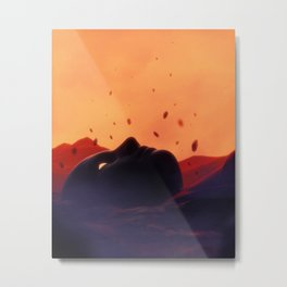 Escapist Metal Print