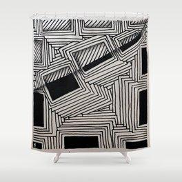 ZTA 7 Shower Curtain