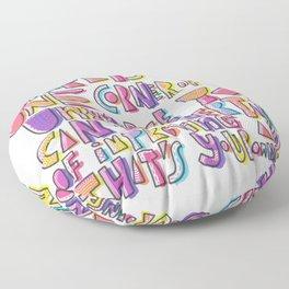 aldous huxley Floor Pillow