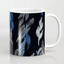 180726 Abstract Leaves Botanical Dark Mode 10 |Botanical Illustrations Coffee Mug