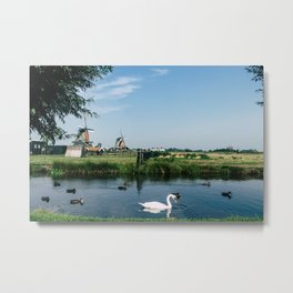 A Beautiful Dutch Scene Metal Print