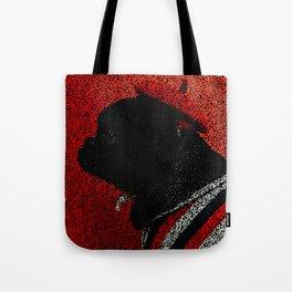 Dog in a Beret Tote Bag