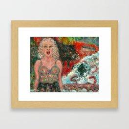 Nature Girl Framed Art Print