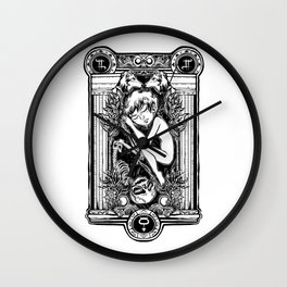 EROS & THANATHOS Wall Clock
