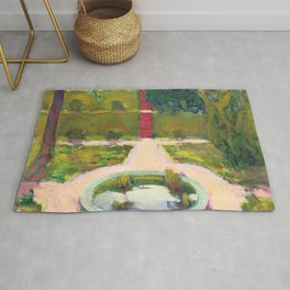 "Koloman (Kolo) Moser ""Garden with fountain"" Rug"
