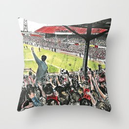 INSIDE THE HOLGATE Throw Pillow
