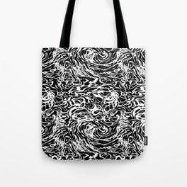 BLACK HUFF Tote Bag