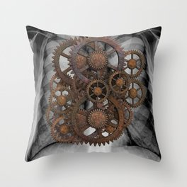 Cog X-Ray Throw Pillow