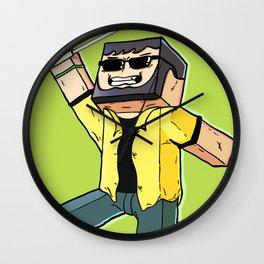Block Sighted - Minecraft Avatar Wall Clock