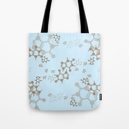 caffeine blues Tote Bag