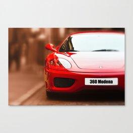 Ferrari 360 Modena Canvas Print