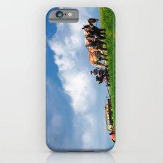 Amish farmer plowing iPhone 6s Slim Case