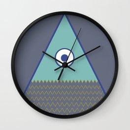 Never ending fish 1 part 1 Wall Clock