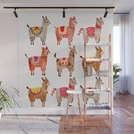 Alpacas Wall Mural