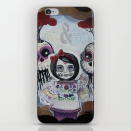 Sugar Skull Song Part 2: Lola y Lolo 2011 iPhone Skin