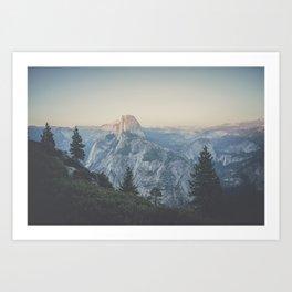 Half Dome VII Art Print