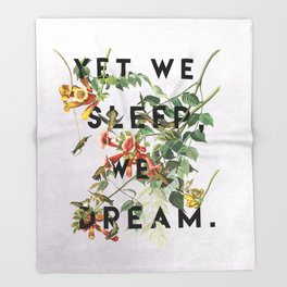 Midsummer's Night Throw Blanket
