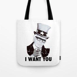 """Karl """"I want you!"""" Tote Bag"""