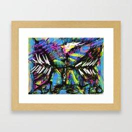 Blasted 9 Framed Art Print