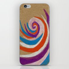 snoozy spiral iPhone & iPod Skin