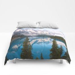 Lake Moraine Dos Comforters