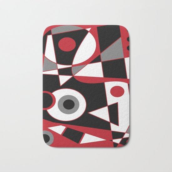 Abstract #505 Bath Mat