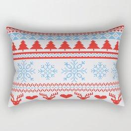 Ugly Christmas Design Rectangular Pillow