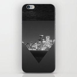 SF upside down iPhone Skin