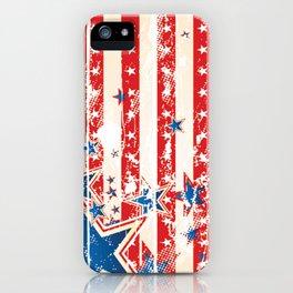 Vintage US Flag iPhone Case