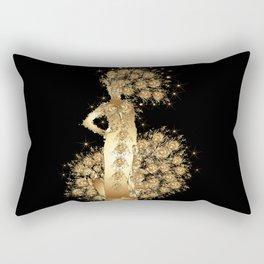 Carnival Woman Rectangular Pillow