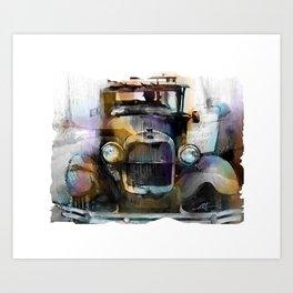 Model T  Art Print