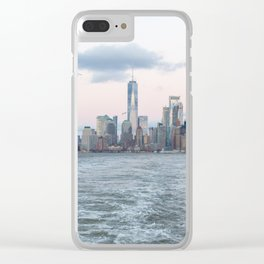 NYC Skyline 2019 Clear iPhone Case