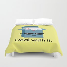 Talk to the Hand Duvet Cover