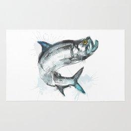 Tarpon Fish Rug