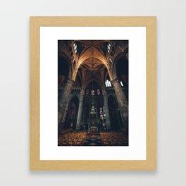 Belgium Church  Framed Art Print