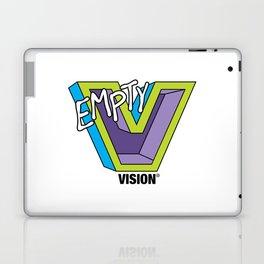 Empty V (purple) Laptop & iPad Skin