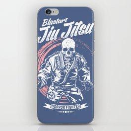 Jiu jitsu Horror Fighter iPhone Skin