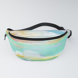 bright sky on the fields Fanny Pack
