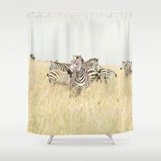 leader::kenya Shower Curtain