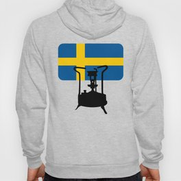 Sweden flag | Pressure stove Hoody