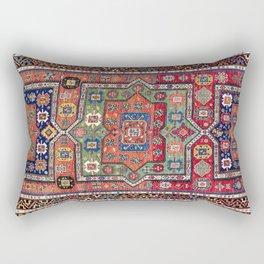 Kuba Sumakh East Caucasus Antique Rug Print Rectangular Pillow