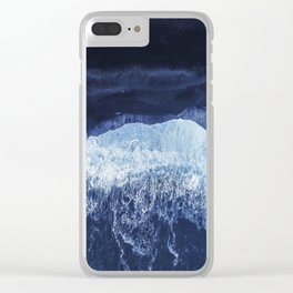 Sea 7 Clear iPhone Case